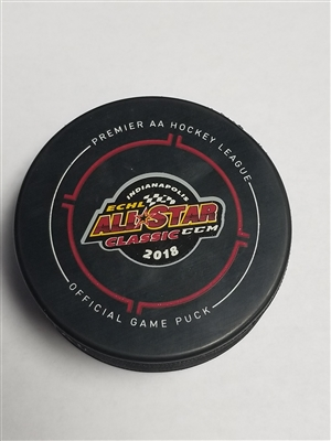 Justin Parizek - 2018 CCM/ECHL All-Star Classic - Mountain Division - Goal Puck - Central vs. Mountain Semi-Final Game - Goal #6