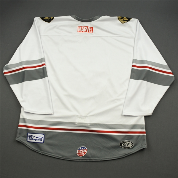 Blank NNO - Thor - 2019-20 - MARVEL Super Hero Night - Game-Issued Jersey & Socks