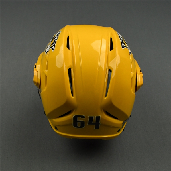 Mikael Granlund - Game-Worn Helmet - 2019 NHL Stanley Cup Playoffs