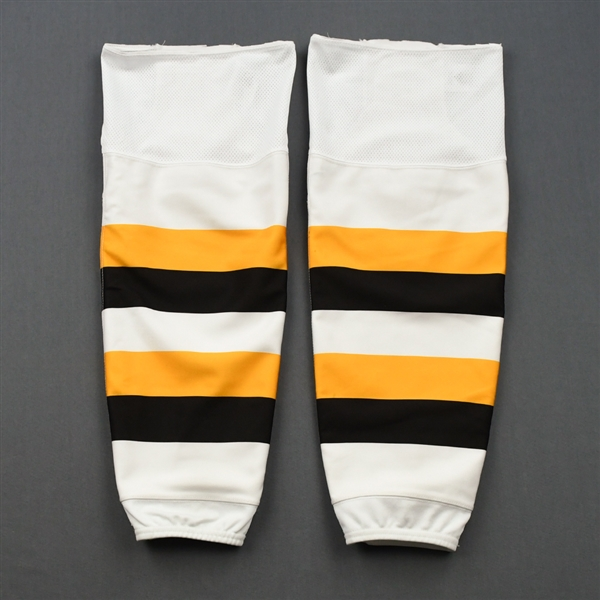 Brad Marchand - 2019 Winter Classic Game-Worn Socks