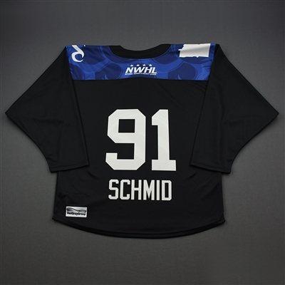 Haylea Schmid - 2019-20 Minnesota Whitecaps Preseason Game-Issued Jersey