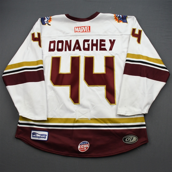 Cody Donaghey - Star Lord - 2019-20 MARVEL Super Hero Night - Game-Worn Jersey and Socks