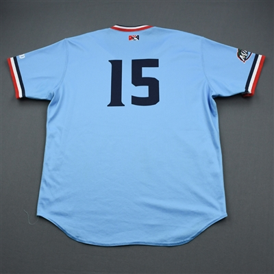 Ben Rotvedt - Fort Myers Miracle - Powder Blue Game-Worn Jersey