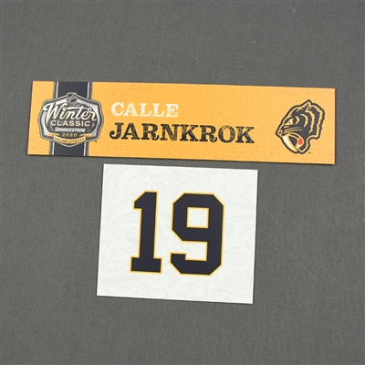 Calle Jarnkrok - 2020 NHL Winter Classic - Game-Used Name & Number Plate